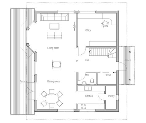detailed house plans small house plan ch38 detailed building model and floor