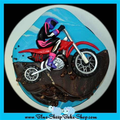 motocross bike cake dirt bike birthday cake cakecentral com