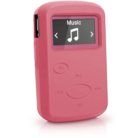 Sansa Express Now Available In Pink by Silicone Rubber Gel For Sandisk Sansa Clip Jam Mp3