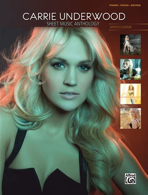 all american girl carrie underwood guitar chords carrie underwood sheet music anthology updated edition