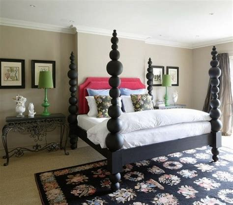 stylish  extravagant english bedroom interior