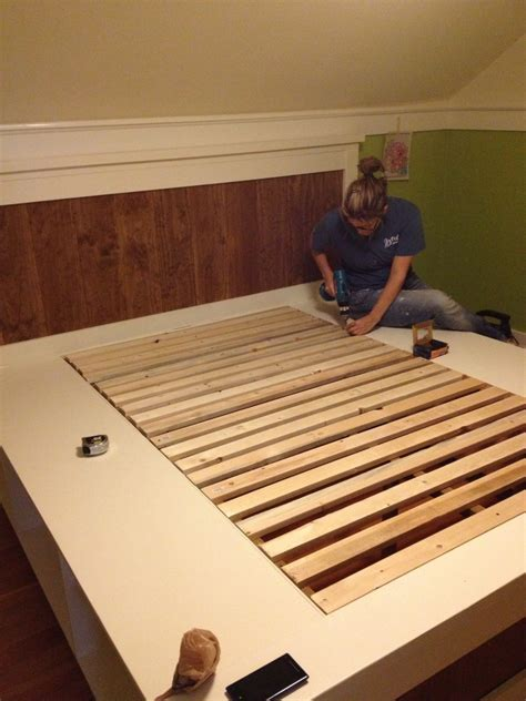 diy farmhouse bed   ana white plans
