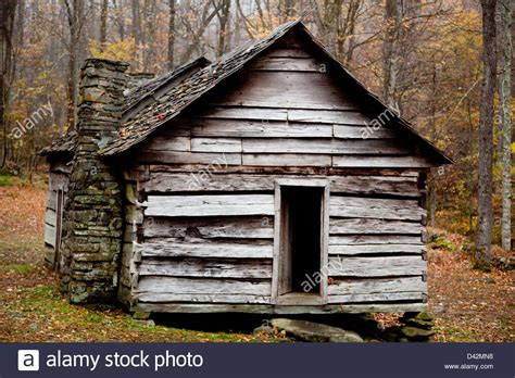 rustic log cabin rustic log cabin with the fall woods in the