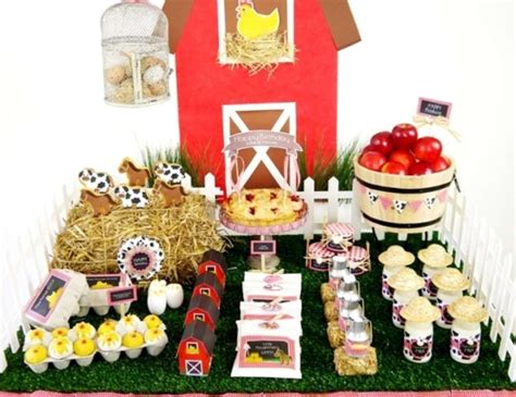 1st Birthday Decoration Ideas At Home by Barnyard Farm Animals Birthday Quot A Joint Barnyard