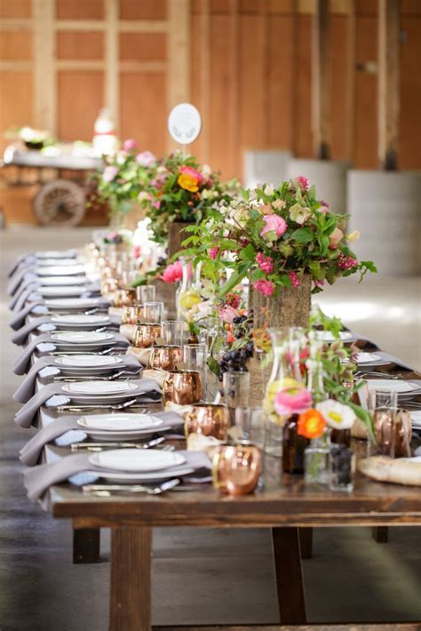 21 best farm to table decor images on Pinterest   Wedding