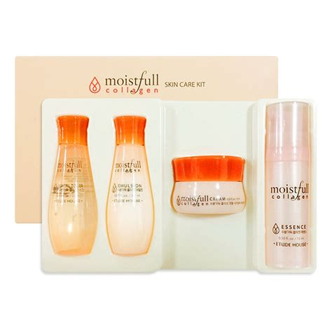 Etude Collagen Moistfull etude house moistfull collagen skin care kit 4 kinds