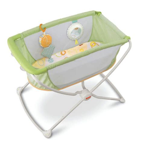 gently used fisher price rock n play portable bassinet
