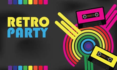 Retro 80s Party | retro tag zie party