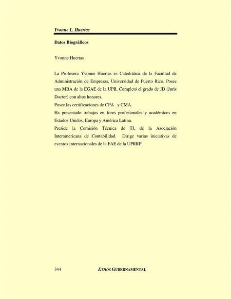 Mba Uprrp by Revista Acad 233 Mica Ethos Gubernamental Vii By Oficina De