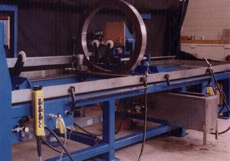 mpi bench insight ndt equipment bench unit for large aerospace