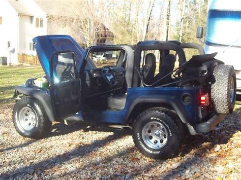 2005 Jeep Wrangler 2 Door Find Used 2005 Jeep Wrangler X Sport Utility 2 Door 4 0l