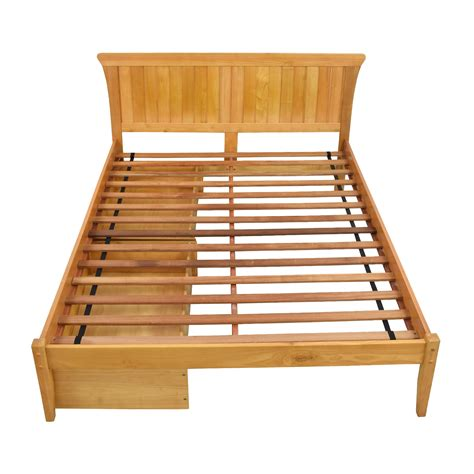 all wood futon with mattress all wood bed frame handy living full wood slat bed frame