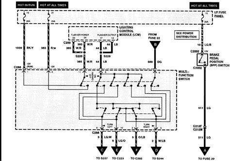 1994 lincoln town car air ride wiring diagram 1994 lincoln