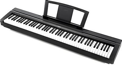 Digital Piano Yamaha P45 New Release Promo Prize lightly used 88 key quot yamaha p35 quot reverb