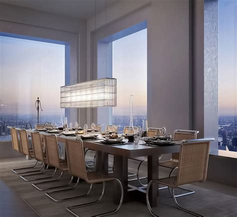 Breathtaking 95 Million Penthouse Rises 1 369 Ft Above Dining Rooms In Nyc