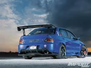 2003 Mitsubishi Lancer Evolution 8 2003 Mitsubishi Lancer Evolution Viii Import Tuner Magazine