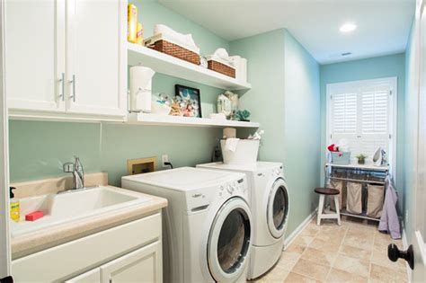 Laundry Room Accessories Storage Eye Catching Laundry Room Shelving Ideas