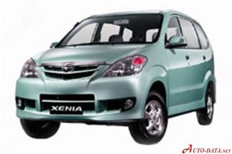 Rack End Daihatsu Xenia 1 0 daihatsu xenia technical specifications fuel economy