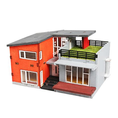 model doll house kits wooden model house kits korea series scale models modern house wooden toy