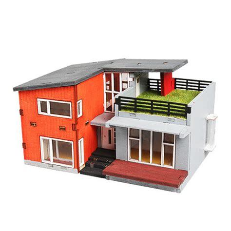 model doll house kits wooden model house kits korea series scale models modern house wooden toy