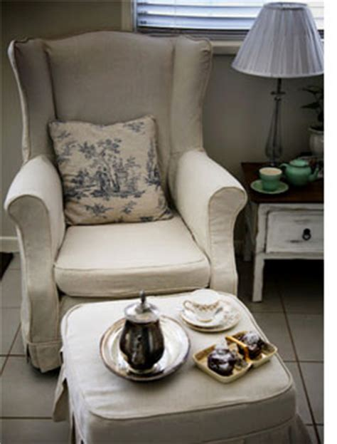 Slipcover Or Reupholster home dzine craft ideas how to slipcover or reupholster a wingback chair