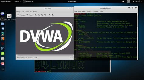 sqlmap tutorial in kali linux kali linux sqlmap dvwa sql injection low medium