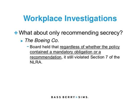 section 7 nlra eeoc title vii and recent nlrb developments