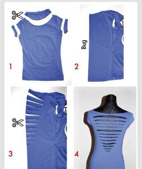 Tshirt Way Vol 4 C3 way to cut your shirt trusper