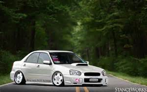 Stanced Subaru Sti Stanced Wrx Sti By Bomberamatir On Deviantart