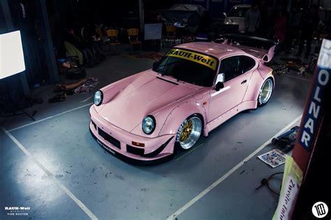 rwb porsche australia rauh welt makes special pink porsche 911 for australian