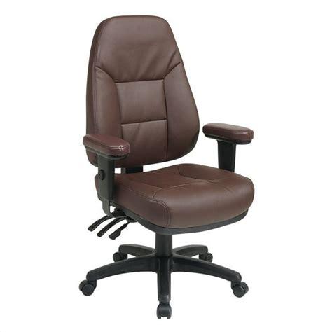 ergonomic leather office chair ergonomic burgundy eco leather office chair ec4300 ec4