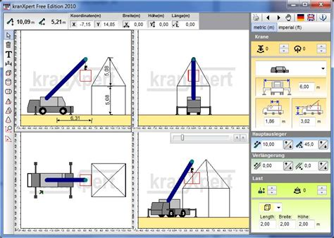 Kranxpert The Crane Planner Crane Lift Plan Template