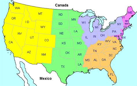 us map identify states eastern states map my