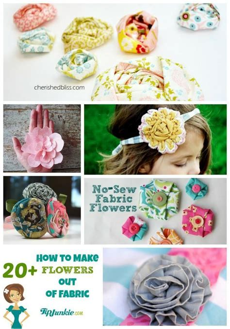 How To Make Beautiful Flowers Out Of Paper - 21 ways to make beautiful flowers paper fabric tip junkie