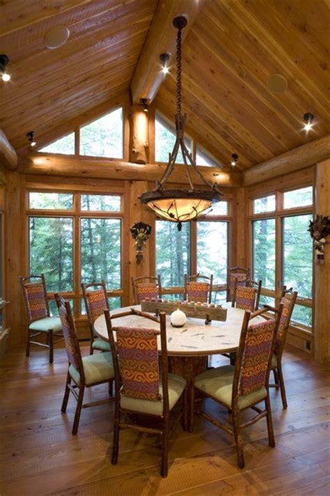 log cabin dining room dining room rustic dining room minneapolis by bill