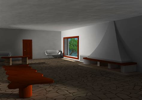 casa malaparte interni sandqvist cinema 4d various exercises