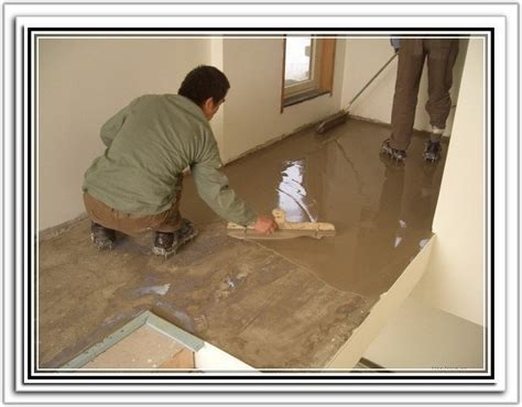 leveling a concrete floor for laminate flooring home