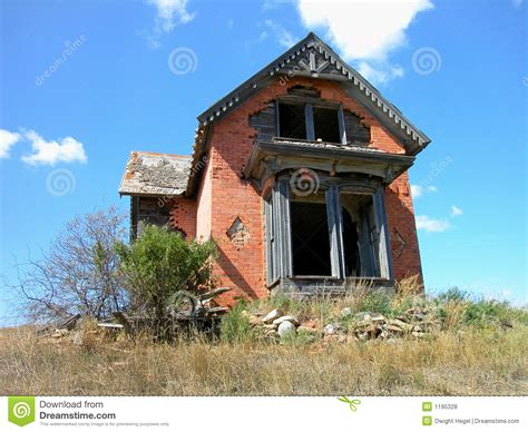 house of antiques antique dilapidated brick house stock photo image 1195328