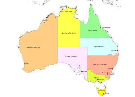 states in australia map australia map states and capitals www pixshark