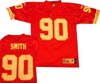 Kansas City Chiefs Mid Tier Printed Reebok Red Jersey