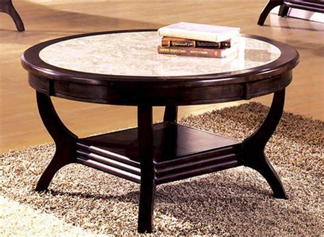 Coffee Tables Ideas: Best round marble top coffee table antique Round Stone Coffee Table, 24