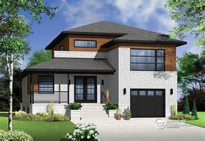 modern split level house plans contemporary style full of surprises drummond house plans blog