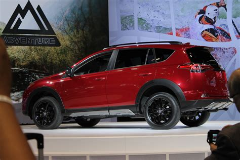The Toyota Rav4 2018 Toyota Rav4 Adventure At The Chicago Auto Show