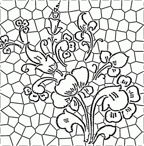 coloring pages stained glass patterns simple stained glass coloring pages az coloring pages