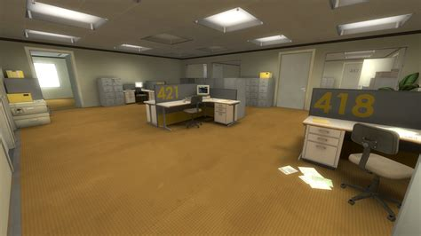 Stanley Offices by The Stanley Parable Review Senshudo