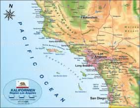 Map Of Los Angeles Ca by Image Gallery Los Angeles Map Usa