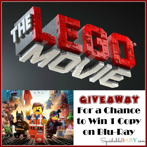 Free Lego Giveaway - giveaway win the lego 174 movie on blu ray the squishable baby