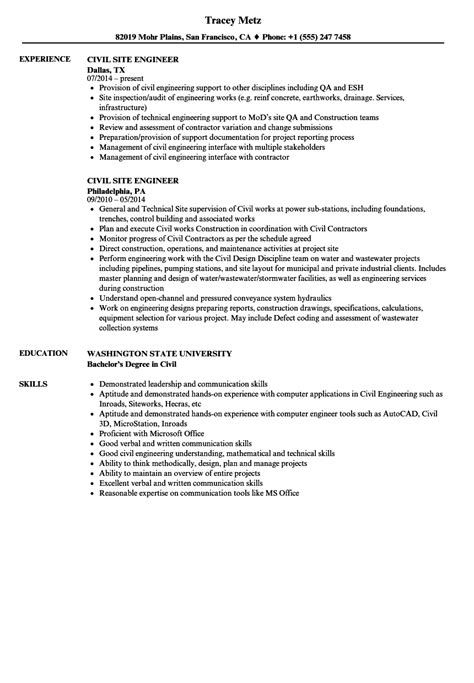 resume sample for civil engineer technician http www