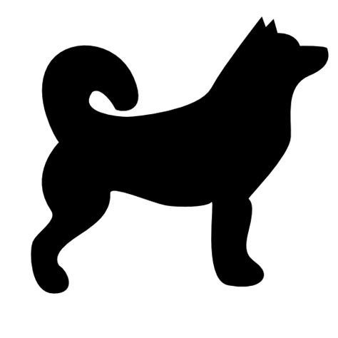 collection  dog icons