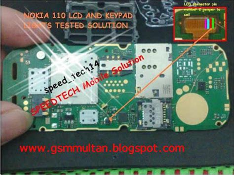 nokia 110 lcd light solution all latest hardware solution nokia 110 lcd light solution